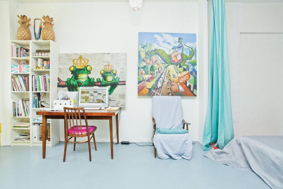 Фотография: Кабинет, Декор в стиле Лофт, Скандинавский, Квартира, Дома и квартиры, IKEA – фото на InMyRoom.ru