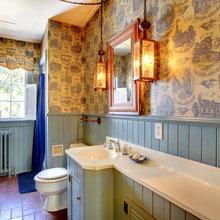 Фотография: Ванная в стиле Кантри, Современный, Декор интерьера, Квартира, Дом, Декор дома – фото на InMyRoom.ru