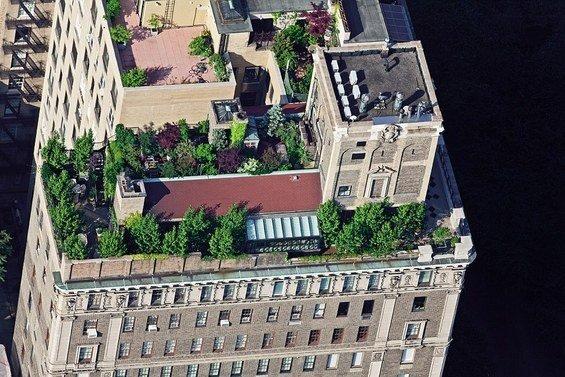 Фотография: Спальня в стиле Современный, Дома и квартиры, Городские места, Нью-Йорк – фото на InMyRoom.ru