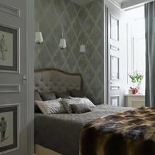 Фотография: Спальня в стиле Кантри, Квартира, Проект недели, Москва, Наталья Гусева, 4 и больше, 60-90 метров – фото на InMyRoom.ru