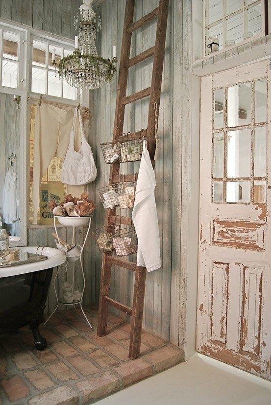 Фотография: Ванная в стиле Прованс и Кантри, Декор интерьера, Дом, Стиль жизни, Советы, Шебби-шик – фото на InMyRoom.ru