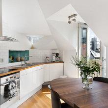Фото из портфолио Квартира на чердаке: лофт тоже может быть уютным – фотографии дизайна интерьеров на INMYROOM
