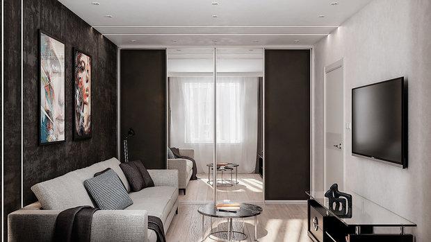 Фото из портфолио Small living room – фотографии дизайна интерьеров на INMYROOM