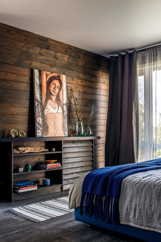 Фотография: Спальня в стиле Эко, Гид, Belinka, как покрасить дачу, дачные домики – фото на INMYROOM