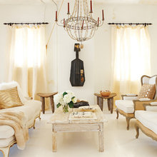 Фотография: Гостиная в стиле Кантри, Кухня и столовая, Квартира, Дома и квартиры – фото на InMyRoom.ru