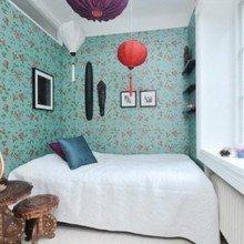 Фотография: Спальня в стиле Скандинавский, Современный, Восточный – фото на InMyRoom.ru