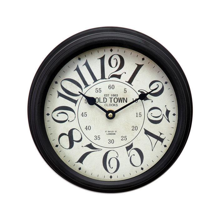 настенные часы металлические