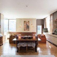 Фотография: Гостиная в стиле Кантри, Квартира, Терраса, Дома и квартиры, Лондон, Пентхаус – фото на InMyRoom.ru