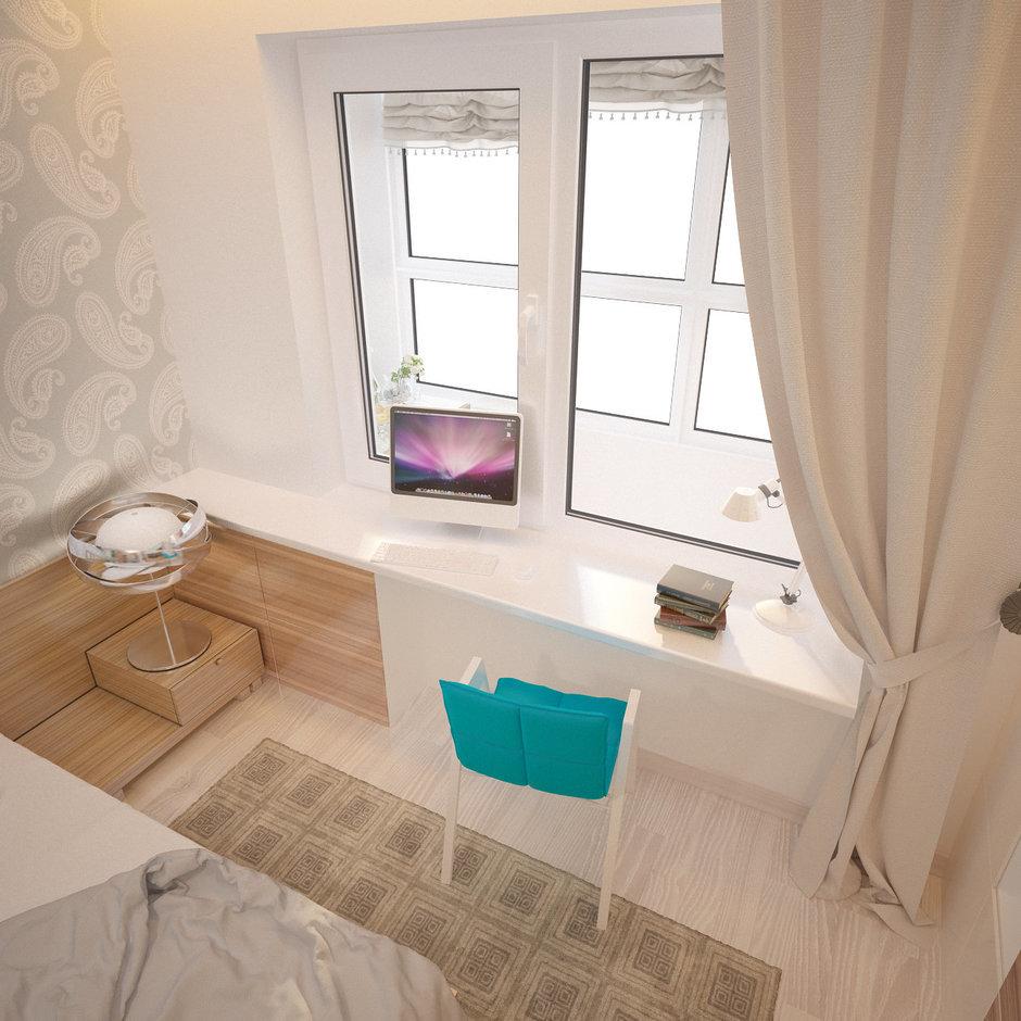 Фотография: Спальня в стиле Современный, Квартира, Проект недели – фото на InMyRoom.ru