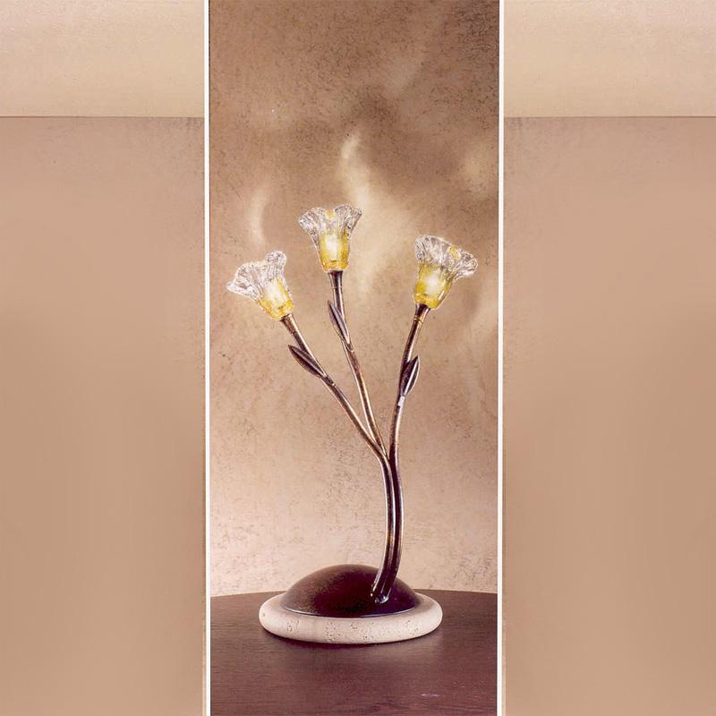 Купить Настольная лампа Zonca из прозрачного стекла, inmyroom, Италия