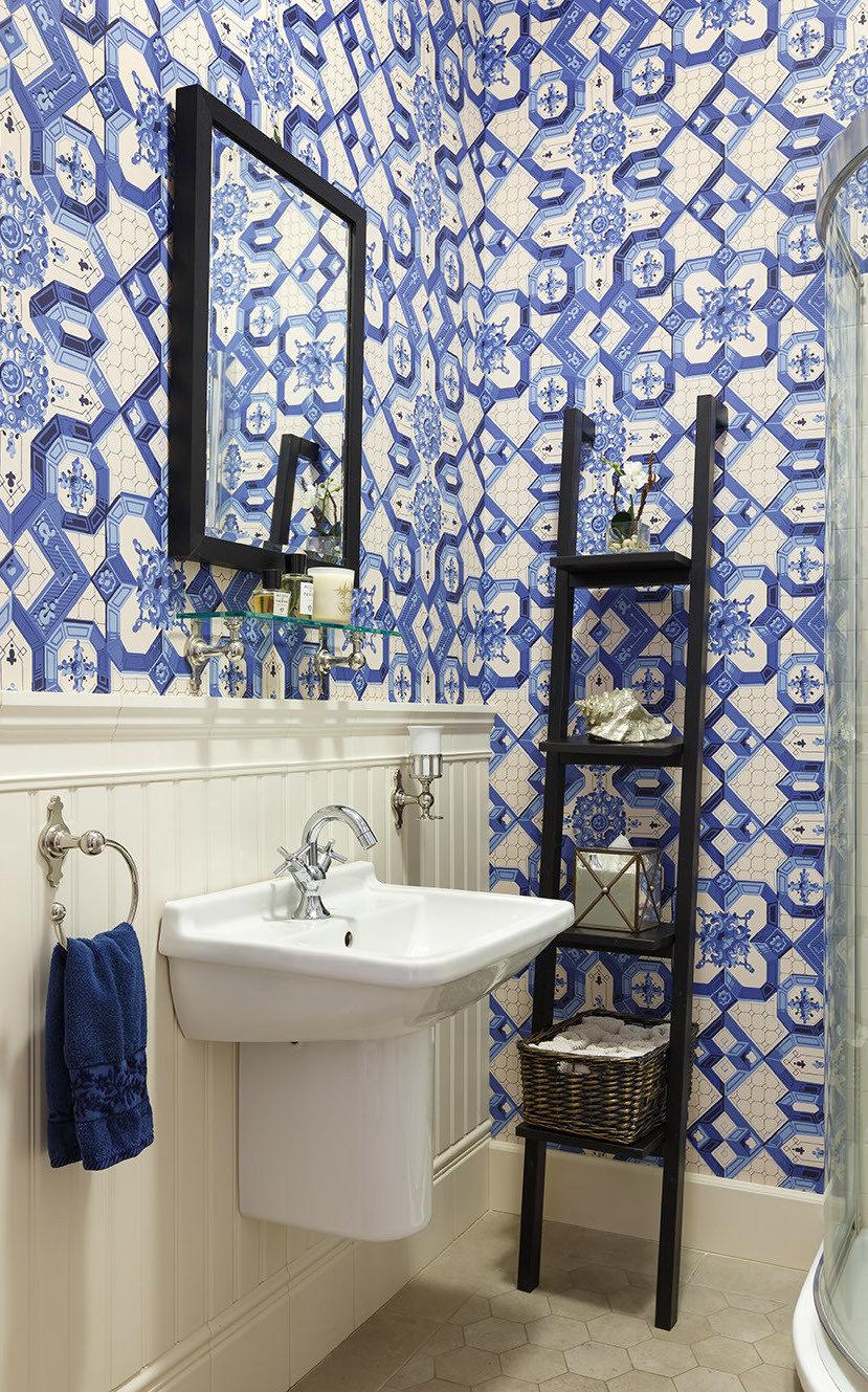 Фотография: Ванная в стиле Классический, Дом, Проект недели, 4 и больше, Более 90 метров, Оксана Бутман – фото на InMyRoom.ru