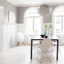 Фото из портфолио Классическая квартира в Швеции с лепниной, камином и балконом – фотографии дизайна интерьеров на INMYROOM