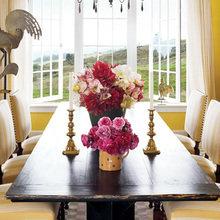 Фотография: Кухня и столовая в стиле Современный, Классический, Дом, Дома и квартиры, Интерьеры звезд – фото на InMyRoom.ru