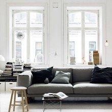 Фото из портфолио Скандинавская квартира с мятно-зеленой кухней – фотографии дизайна интерьеров на InMyRoom.ru