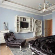 Фотография: Спальня в стиле Кантри, Квартира, Дома и квартиры, Проект недели, Москва – фото на InMyRoom.ru