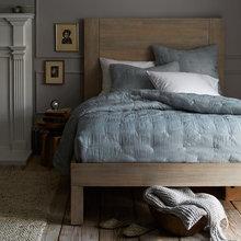 Фотография: Спальня в стиле Кантри, Декор интерьера, Интерьер комнат, Текстиль – фото на InMyRoom.ru