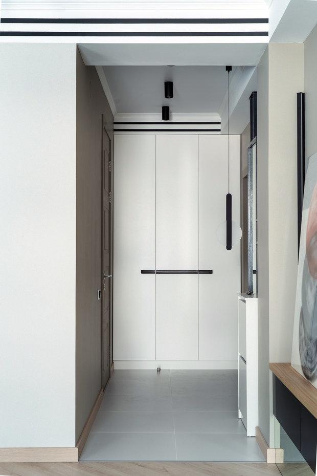 Фотография: Прихожая в стиле Современный, Квартира, Проект недели, Эко, 3 комнаты, 60-90 метров, Алматы, Анна Аранович – фото на INMYROOM