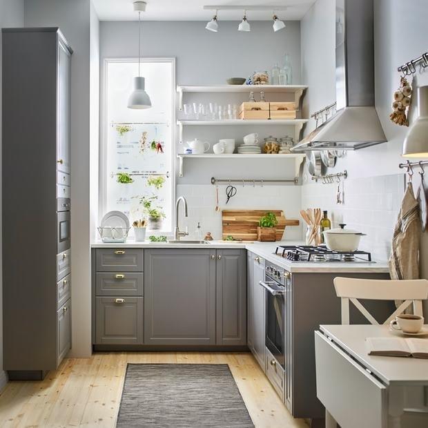 Фотография: Кухня и столовая в стиле Скандинавский, Мебель и свет, Советы, ИКЕА – фото на INMYROOM