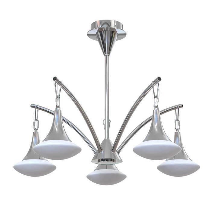 Подвесная люстра Luce Solara Moderno в стиле Хай-Тек