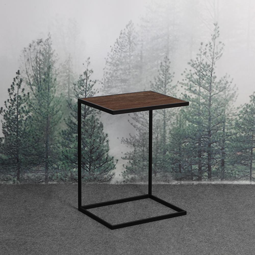 Купить Приставной столик Poegle New Into Black американский орех, inmyroom, Россия