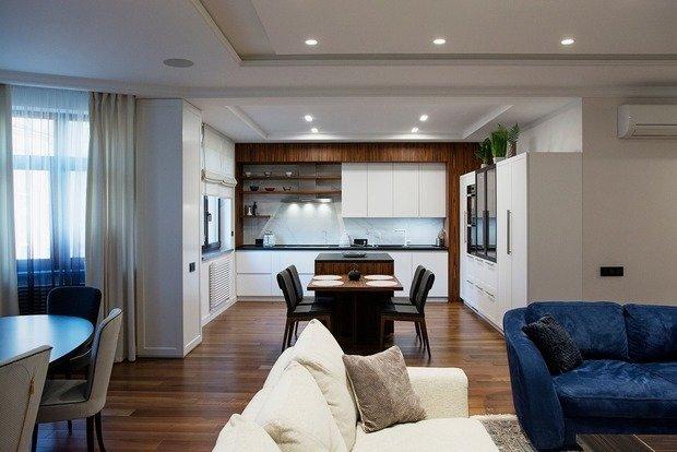 Фото из портфолио Arch Apartment – фотографии дизайна интерьеров на INMYROOM