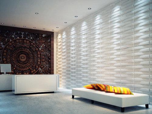 Фотография:  в стиле Современный, Декор интерьера, Декор дома, Стеновые панели – фото на InMyRoom.ru