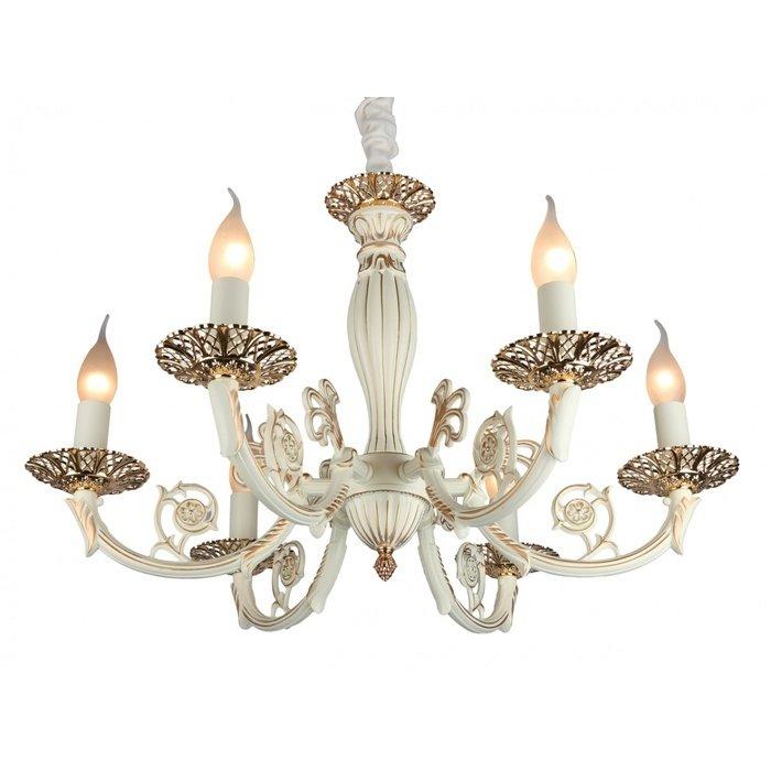 Подвесная люстра OMNILUX  в виде свечей с подсвечниками