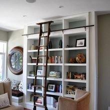 Фотография: Мебель и свет в стиле Кантри, Хранение, Стиль жизни, Советы, Библиотека – фото на InMyRoom.ru
