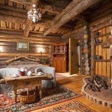 Фотография: Спальня в стиле Кантри, Декор интерьера, Мебель и свет, Деревенский – фото на InMyRoom.ru
