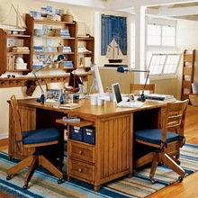Фотография: Офис в стиле Кантри – фото на InMyRoom.ru