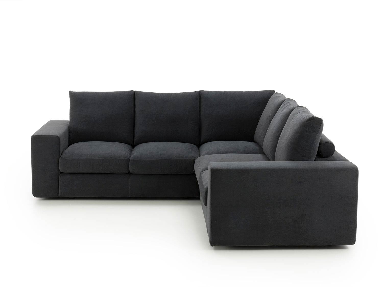 фото модульных угловых диванов черного цвета участники группы еще