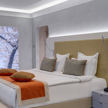 Фотография: Спальня в стиле Хай-тек, Дом, Дома и квартиры – фото на InMyRoom.ru