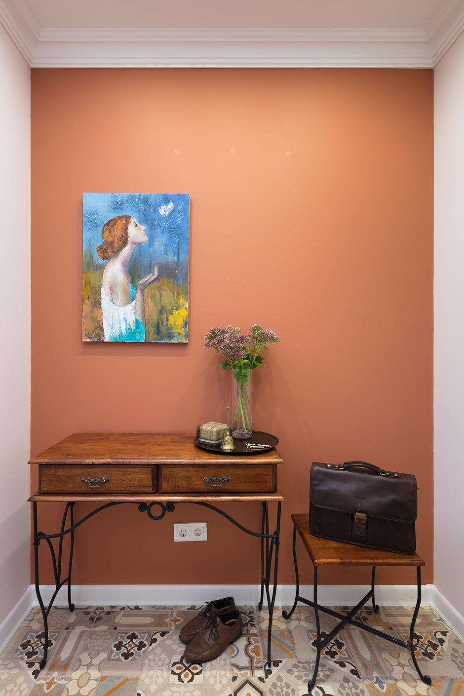 Фотография: Прихожая в стиле Прованс и Кантри, Квартира, Проект недели, Балашиха, Монолитный дом, 2 комнаты, 60-90 метров, Анна Елина – фото на InMyRoom.ru