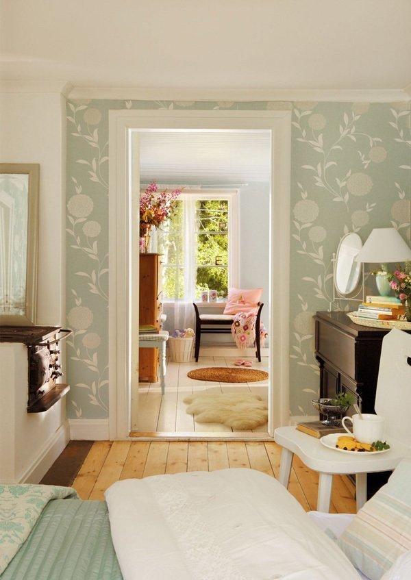Фотография: Спальня в стиле Прованс и Кантри, Скандинавский, Дом, Дома и квартиры, IKEA, Дача – фото на InMyRoom.ru