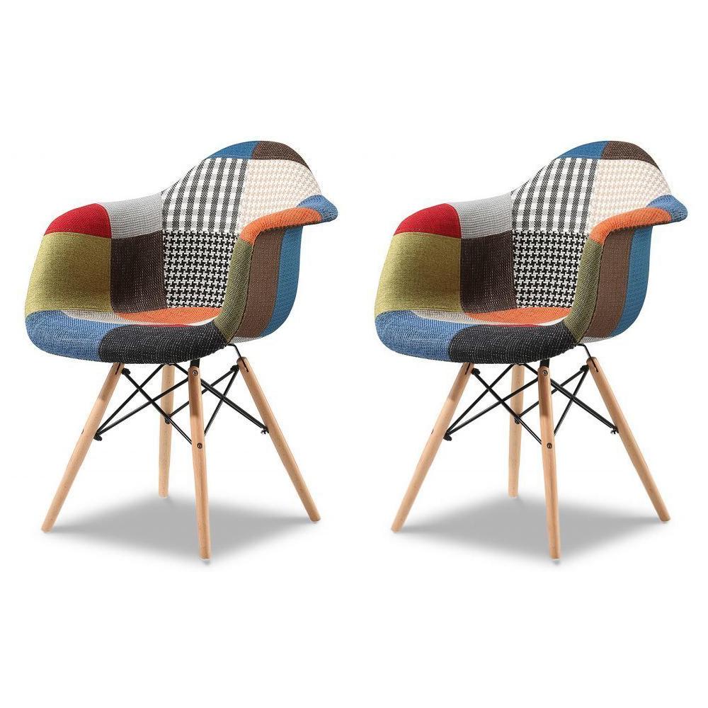 Купить Набор из двух стульев Patchwork, inmyroom, Китай