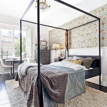 Фото из портфолио Цветочные обои: каждой комнате свой наряд – фотографии дизайна интерьеров на InMyRoom.ru