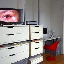 Фотография:  в стиле Скандинавский, Малогабаритная квартира, Квартира, Дома и квартиры, IKEA – фото на InMyRoom.ru