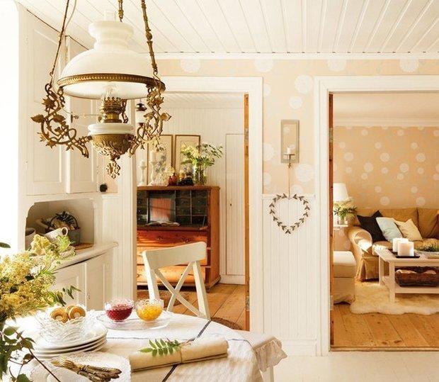 Фотография: Кухня и столовая в стиле Прованс и Кантри, Скандинавский, Дом, Дома и квартиры, IKEA, Дача – фото на InMyRoom.ru