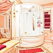 Фотография: Ванная в стиле Классический, Современный, Квартира, Дома и квартиры, Роспись – фото на InMyRoom.ru