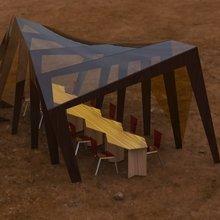 """Фото из портфолио Крытая беседка для кафе """"AIR LiNE"""" – фотографии дизайна интерьеров на INMYROOM"""