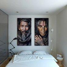 Фотография: Спальня в стиле Минимализм, Малогабаритная квартира, Квартира, Цвет в интерьере, Дома и квартиры, Белый – фото на InMyRoom.ru