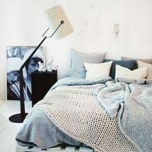 Фотография: Спальня в стиле Лофт, Скандинавский, Декор интерьера, Дизайн интерьера, Декор, Цвет в интерьере – фото на InMyRoom.ru