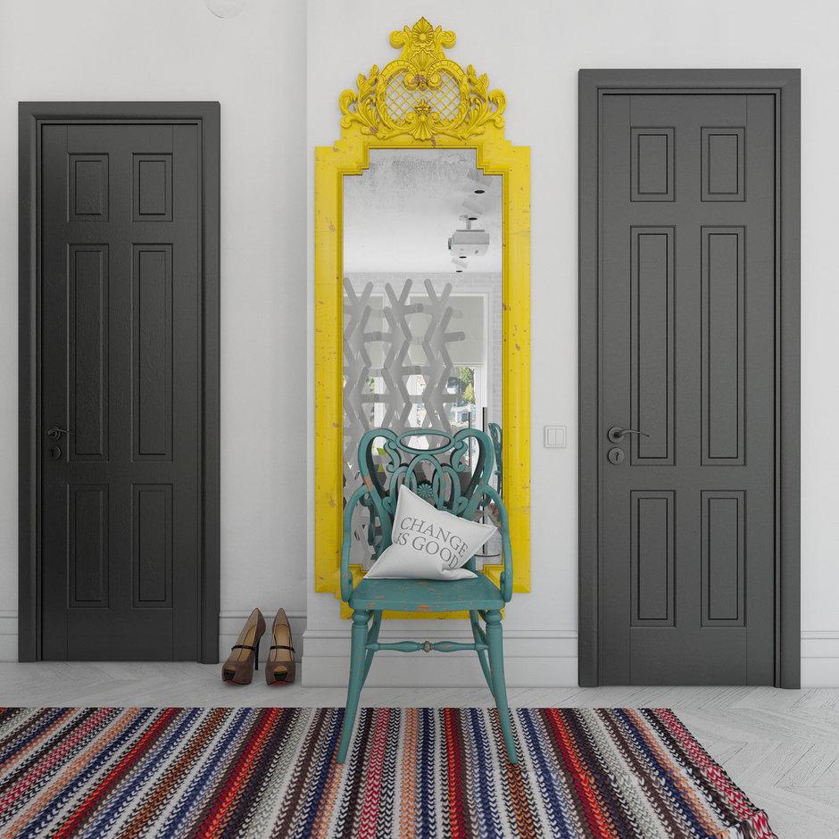 Фотография: Прихожая в стиле , Декор интерьера, Квартира, BoConcept, Eichholtz, Дома и квартиры, IKEA, Проект недели – фото на InMyRoom.ru