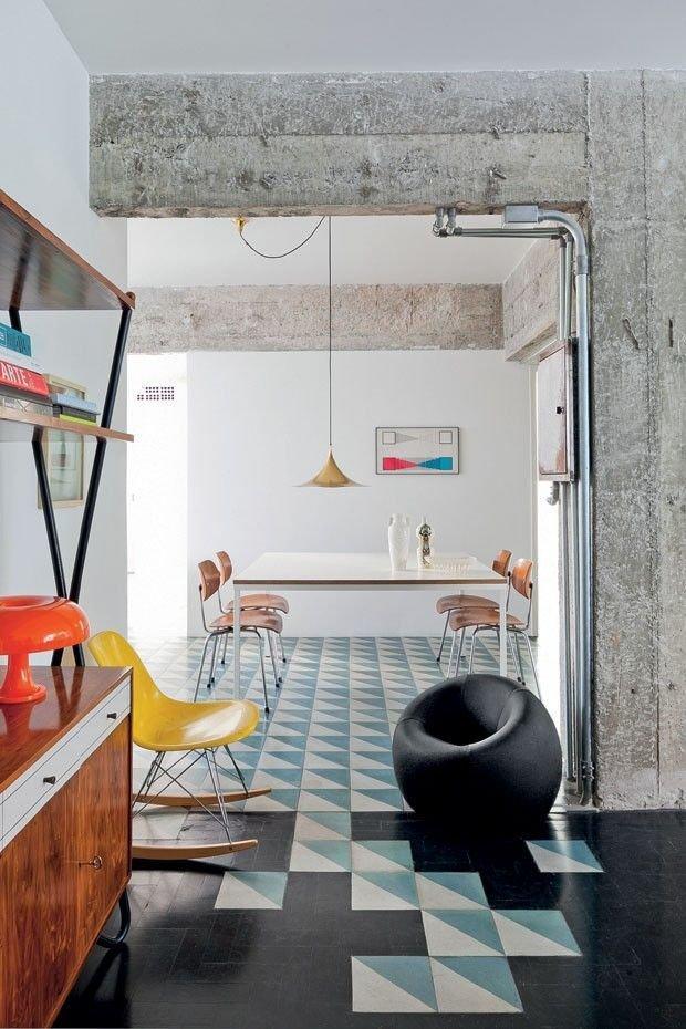 Фотография: Кухня и столовая в стиле Лофт, Декор интерьера, Декор дома, Плитка, Ремонт на практике – фото на InMyRoom.ru
