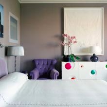 Спальня в парижской квартире на Rue de L'Universite. Дизайн: Жан-Луи Денио