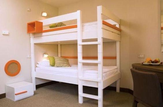 Фотография: Детская в стиле Минимализм, Дома и квартиры, Городские места, Отель – фото на INMYROOM