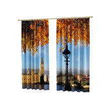 Дизайнерские фотошторы: Лондонская осень