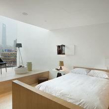 Фотография: Спальня в стиле Скандинавский, Дома и квартиры, Городские места – фото на InMyRoom.ru