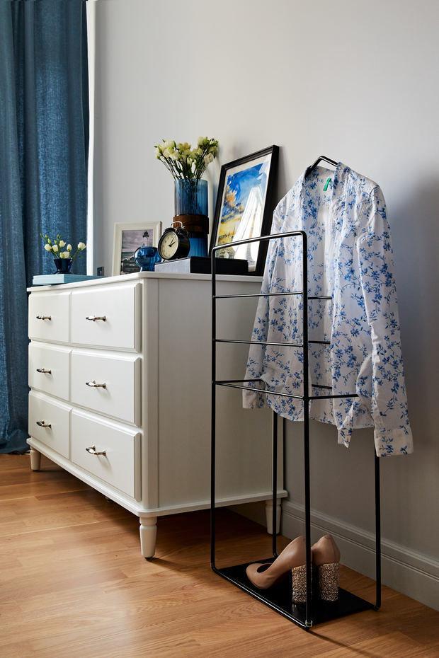 Фотография: Спальня в стиле Современный, Квартира, Студия, Проект недели, Долгопрудный, 1 комната, до 40 метров, Марина Каралкина – фото на INMYROOM