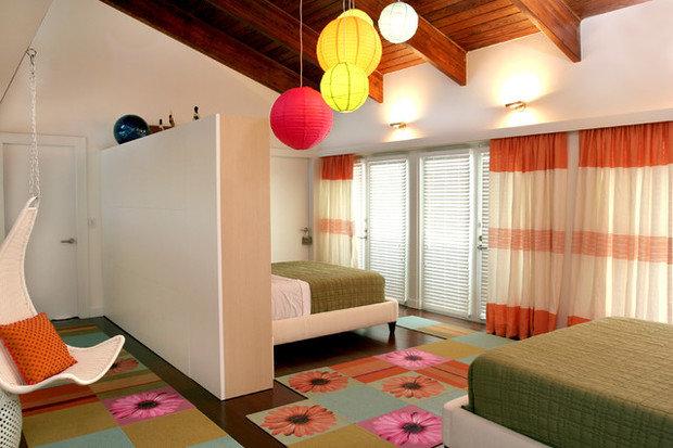 Фотография: Спальня в стиле Современный, Прихожая, Интерьер комнат – фото на InMyRoom.ru